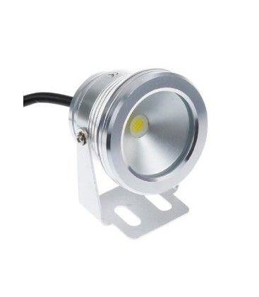 LED projektør 10W - Varm hvid, 100% vandtæt