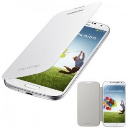 S4.flipcover: Samsung Galaxy S4 Flip Cover. Hvid