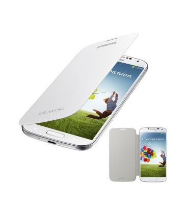 Samsung Galaxy S4 Flip Cover. Hvid