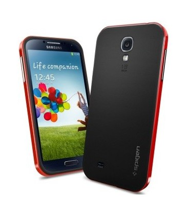 Samsung Galaxy S4 Neo Hybrid cover rød