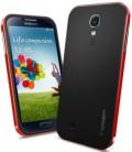 Samsung Galaxy S4 Spiegen SGP Neo Hybrid cover red