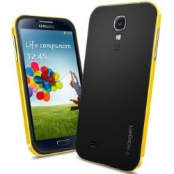 S4.neo.cover.yellow: Samsung Galaxy S4 Neo Hybrid cover gul