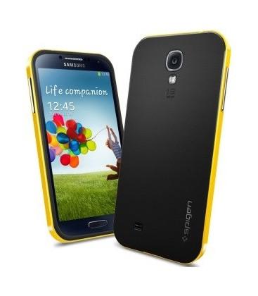 Samsung Galaxy S4 Spiegen SGP Neo Hybrid cover yellow