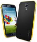 Samsung Galaxy S4 Neo Hybrid cover gul