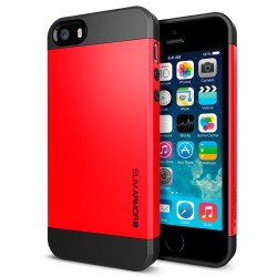 iphone5.slimarmor.red: Iphone 5 cover, slim Armor, rød