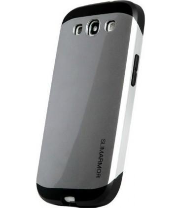 Samsung s3, cover slim Armor, grå