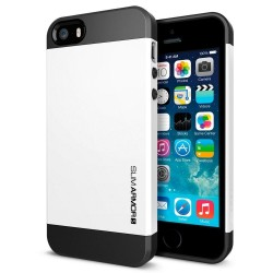 Iphone 4 cover, slim Armor, hvid