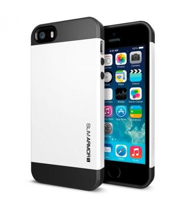 Iphone 5 cover, SPIGEN slim Armor, white