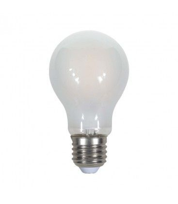 V-Tac 9W LED pære - Kultråd, matteret, E27