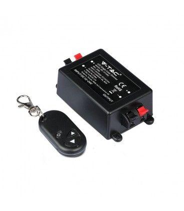 Trådløs dæmper med fjernbetjening - RF trådløs, memory funktion, 12V/24V (96W / 192W)