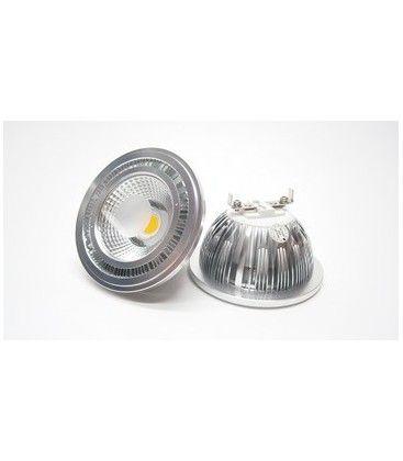 G53 AR111 Varm hvid LED spot, 5W, 230V, 465 Lumen