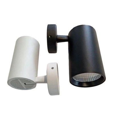 Image of   LEDlife hvid vægmonteret spot 30W - Flicker free, RA90, til loft/væg - Kulør : Varm, Spredning : 38°, Farve på hus : Hvid