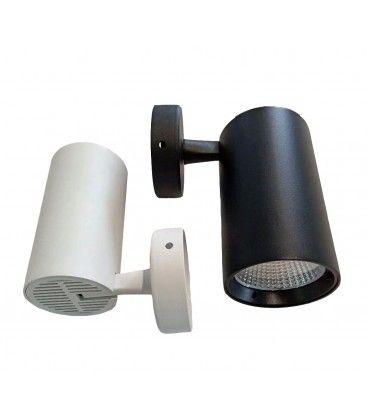 LEDlife hvid vægmonteret spot 30W - Flicker free, RA90, til loft/væg