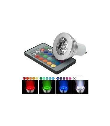 RGB3 - LED spot, 3w, 230v, GU10