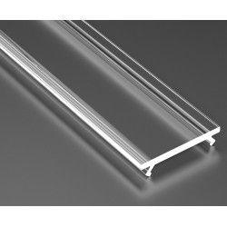 LED Strips Klart cover til aluprofil - 1 meter, passer til Type A, C, D og Z