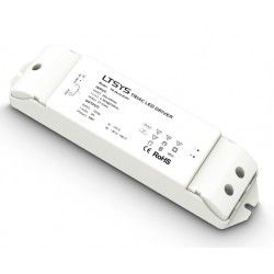 Tilbehør LTech 36W dæmpbar strømforsyning - 12V DC, 3A, Fase+Push-dæmpbar, IP20