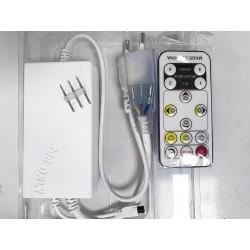 Tilbehør Trådløs CCT kontroller med fjernbetjening - Juster kulør og dæmp, Inkl. endeprop, til 14W 230V strip, infrarød