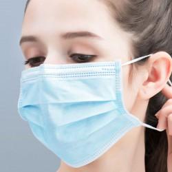 Ansigtsmaske / åndedrætsværn V-Tac Ansigtsmaske / mundbind, Type IR - Godkendt, væskeafvisende, med øreelastik, 3 lags