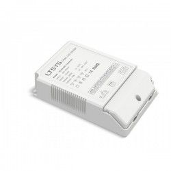 Ltech 50W dæmpbar driver til LED panel - Triac fasedæmp + push-dim, passer til vores 45W store LED paneler
