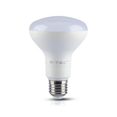 Image of   V-Tac 10W LED spotpære - Samsung LED chip, R80, E27 - Kulør : Varm, Dæmpbar : Ikke dæmpbar