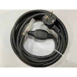 Tilbehør Stik til 6W 230V LED strip, IP67 vandtæt - Inkl. endeprop, 1m, 230V