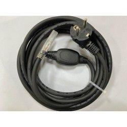 Tilbehør Stik til 6W 230V LED strip, IP67 vandtæt - Inkl. endeprop, 5m, 230V