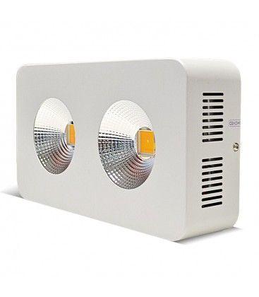 Vækstlampe LED 100W - Høj kvalitets grow lamp, inkl. ophæng, ægte 100W