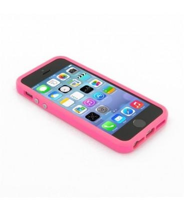 Iphone 4/4S Silikone bumper / cover, Metal knapper, flere farver