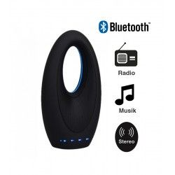 Bordlamper V-Tac Design Bluetooth Højttaler - 5W, genopladelig, FM Radio, Aux, SD, USB