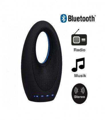 V-Tac Design Bluetooth Højttaler - 5W, genopladelig, FM Radio, Aux, SD, USB