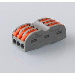 LED indbygningspaneler Skrueløs muffe til 3 samlinger