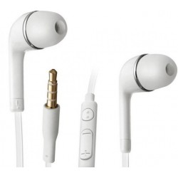 Headset.inear: Headset in-ear hvid