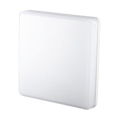 V-Tac 25W LED loftslampe - IP44, 30x30cm, 230V, inkl. lyskilde - Kulør : Varm, Dæmpbar : Ikke dæmpbar