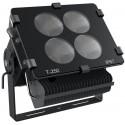 LEDlife MARINE 300W LED projektør - Til maritim brug, coated aluminium + 316 rustfrit stål, IP67