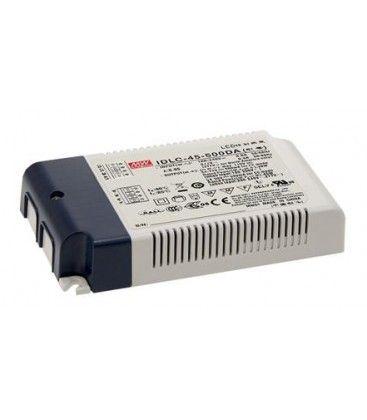 45W DALI dæmpbar driver til LED panel - Meanwell 45W DALI driver, passer til vores 45W LED paneler