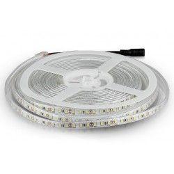LED Strips V-Tac 7,2W/m stænktæt LED strip - 5m, 120 LED pr. meter