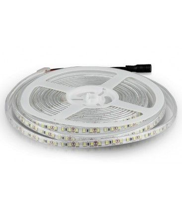 V-Tac 7,2W/m stænktæt LED strip - 5m, 120 LED pr. meter