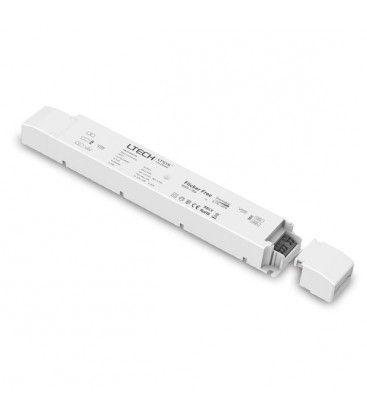 LTech 75W dæmpbar strømforsyning - 12V DC, 6.25A, Fase+Push-dæmpbar, IP20
