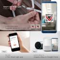 V-Tac 10W/m RGB+W LED strip komplet kit - 5m, 60 LED pr. meter, Smart Home /u fjernbetjening