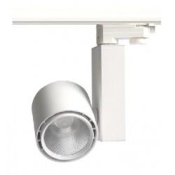 Restsalg: LEDlife hvid skinnespot 30W - Citizen LED, Flicker free, RA80, 3-faset