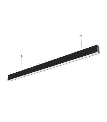 V-Tac 40W LED nedhængt loftarmatur - 120cm, 230V, inkl. lyskilde, UGR 19, justerbar kulør