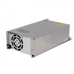 Transformator 500W strømforsyning - 24V DC, 20A, IP20 indendørs
