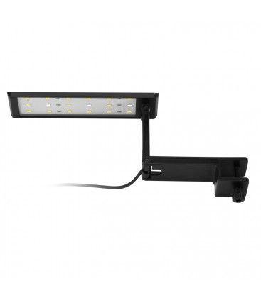 27,5 cm akvarie lampe - 10W LED, hvid/blå