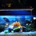 19,5 cm akvarie lampe - 7W LED, hvid/blå