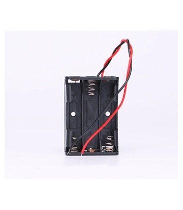 Batteri holder 3 x AA - 4.5V