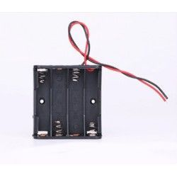 Laserpointer Batteri holder 4 x AA - 6V