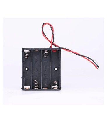 Batteri holder 4 x AA - 6V