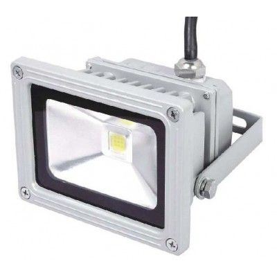 Image of   Dæmpbar 10W LED projektør - Varm hvid, arbejdslampe, udendørs