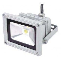Dæmpbar 10W LED projektør - Varm hvid, arbejdslampe, udendørs