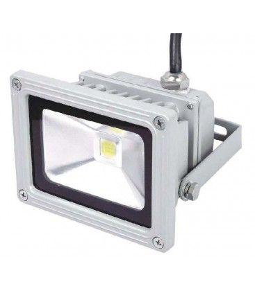 10W LED projektør - Varm hvid, dæmpbar, arbejdslampe, udendørs